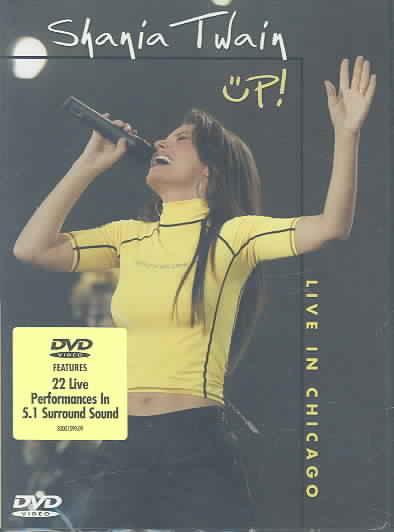 UP! LIVE IN CHICAGO BY TWAIN,SHANIA (DVD)