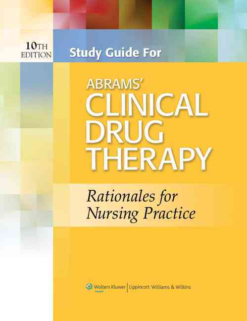 Abrams' Clinical Drug Therapy By Frandsen, Geralyn [Study Guide Edition]